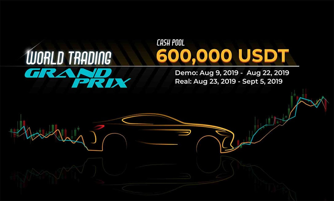 World's Largest Crypto Trading Competition Announces 600,000 USDT Prize