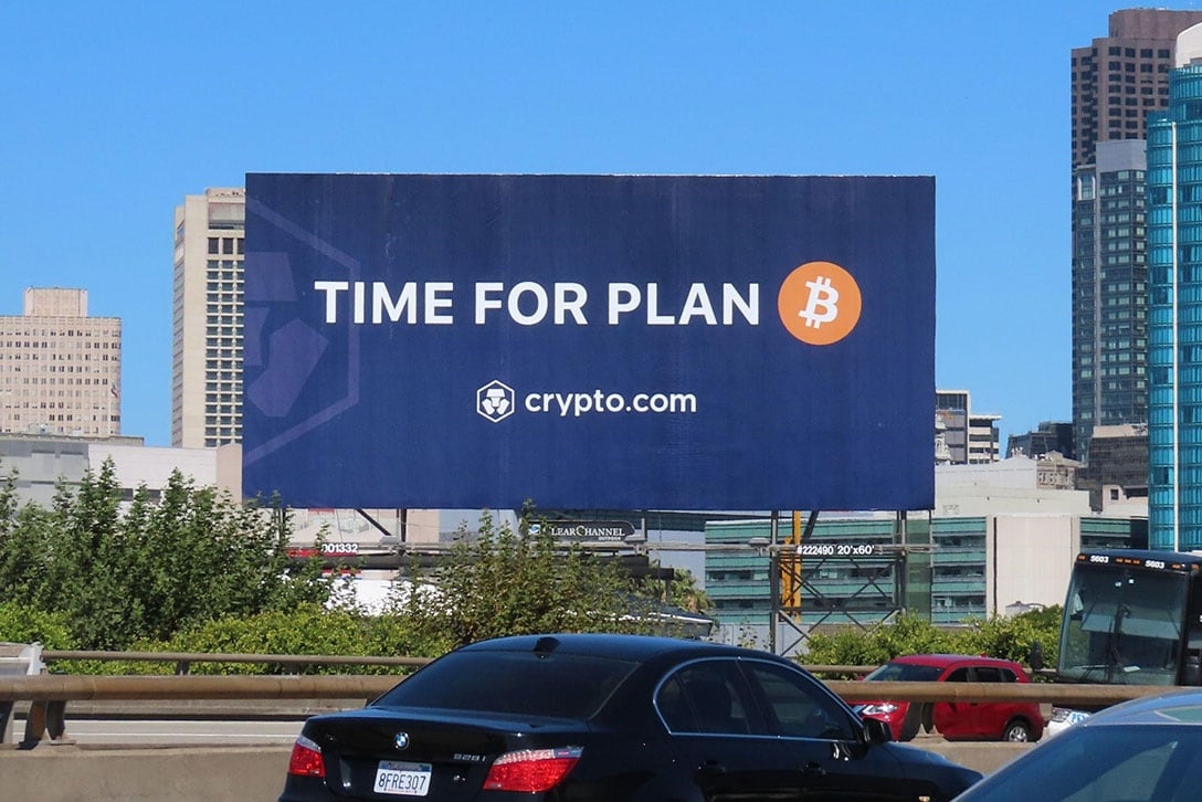 "Viral ""Time For Plan B"" Marketing And Free $50 Sign-Up Is Enabling Crypto Adoption Via Crypto.com"