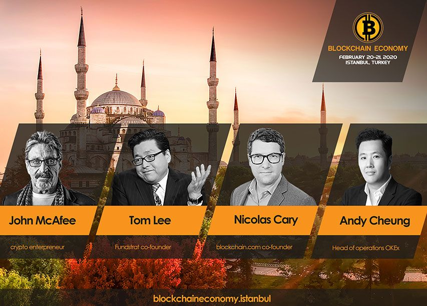 The Cryptocurrency Community Of All MENA And Eurasia Region Are Gathering In Blockchain Economy2020 In Istanbul!