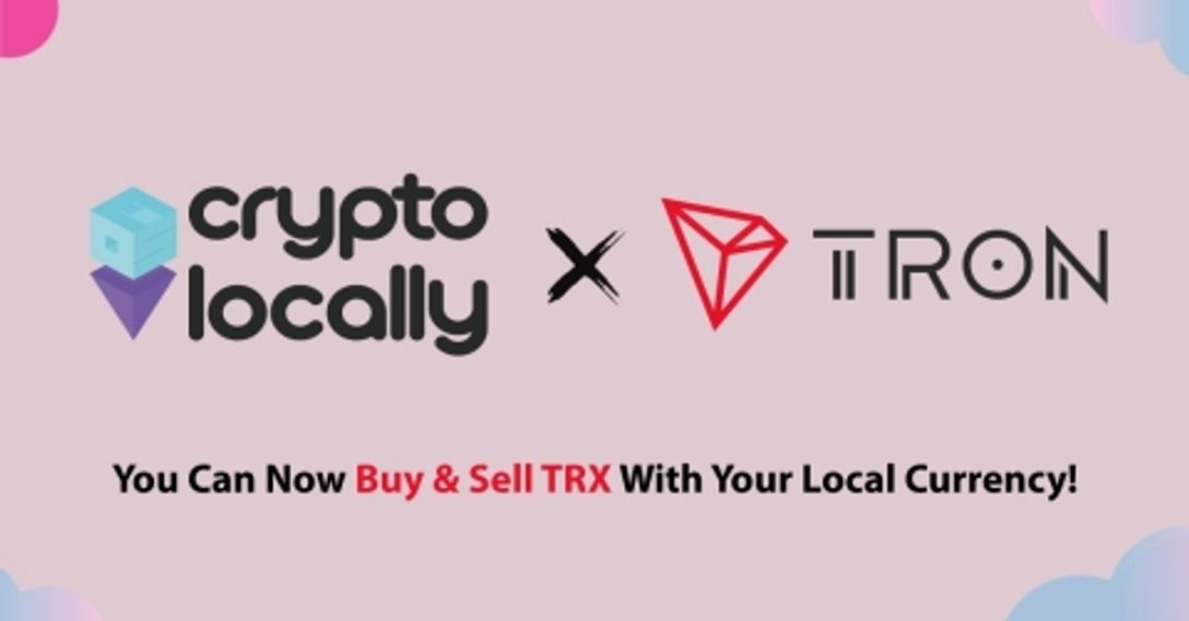 TRON Goes P2P as CryptoLocally Marketplace Adds TRX Support