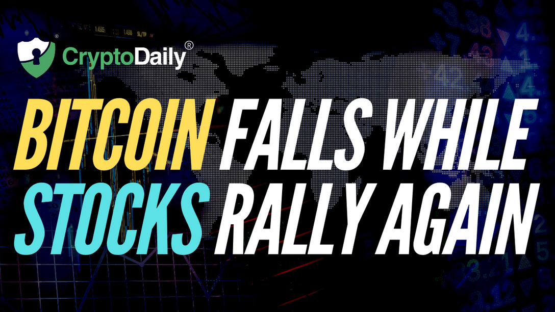 Bitcoin (BTC) Falls While Stocks Rally Again