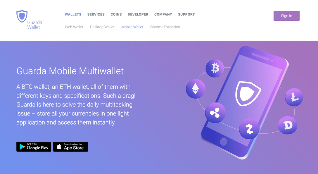 Guarda Wallet Launches New Features for Its Mobile Apps