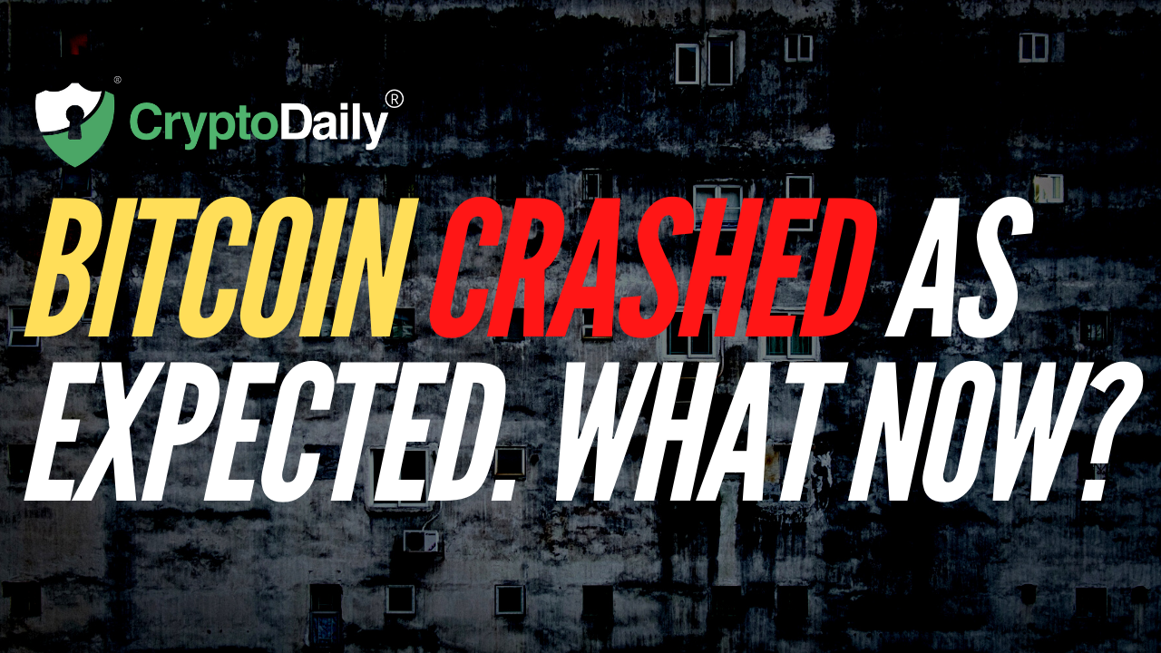 Bitcoin Crashed As We Expected. What Now?