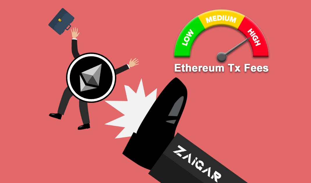 Zaigar Drops Ethereum ERC-20 Token For Dash Saving Thousands of Dollars in Fees