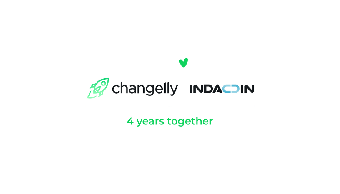 Changelly and Indacoin celebrate partnership by offering big discounts