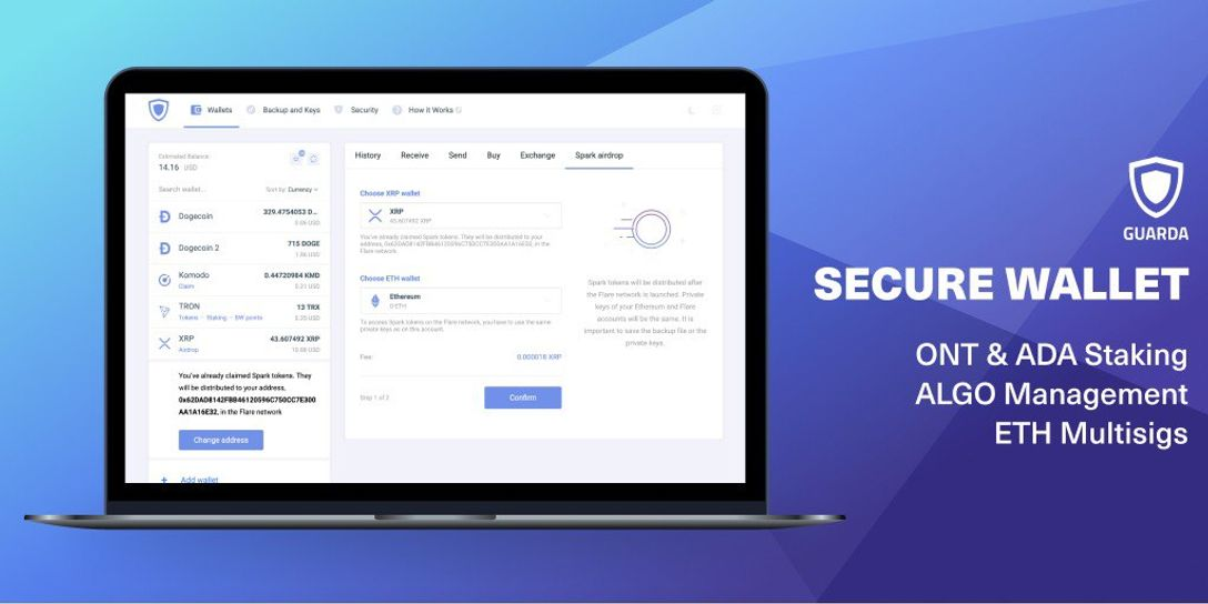 Guarda Wallet Introduces New Features