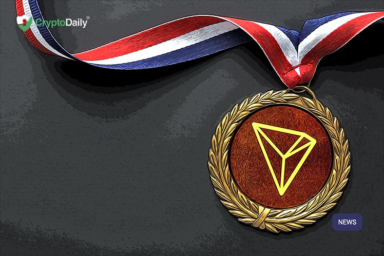 TRON Finally Beats Ethereum For The dApp Gold Medal