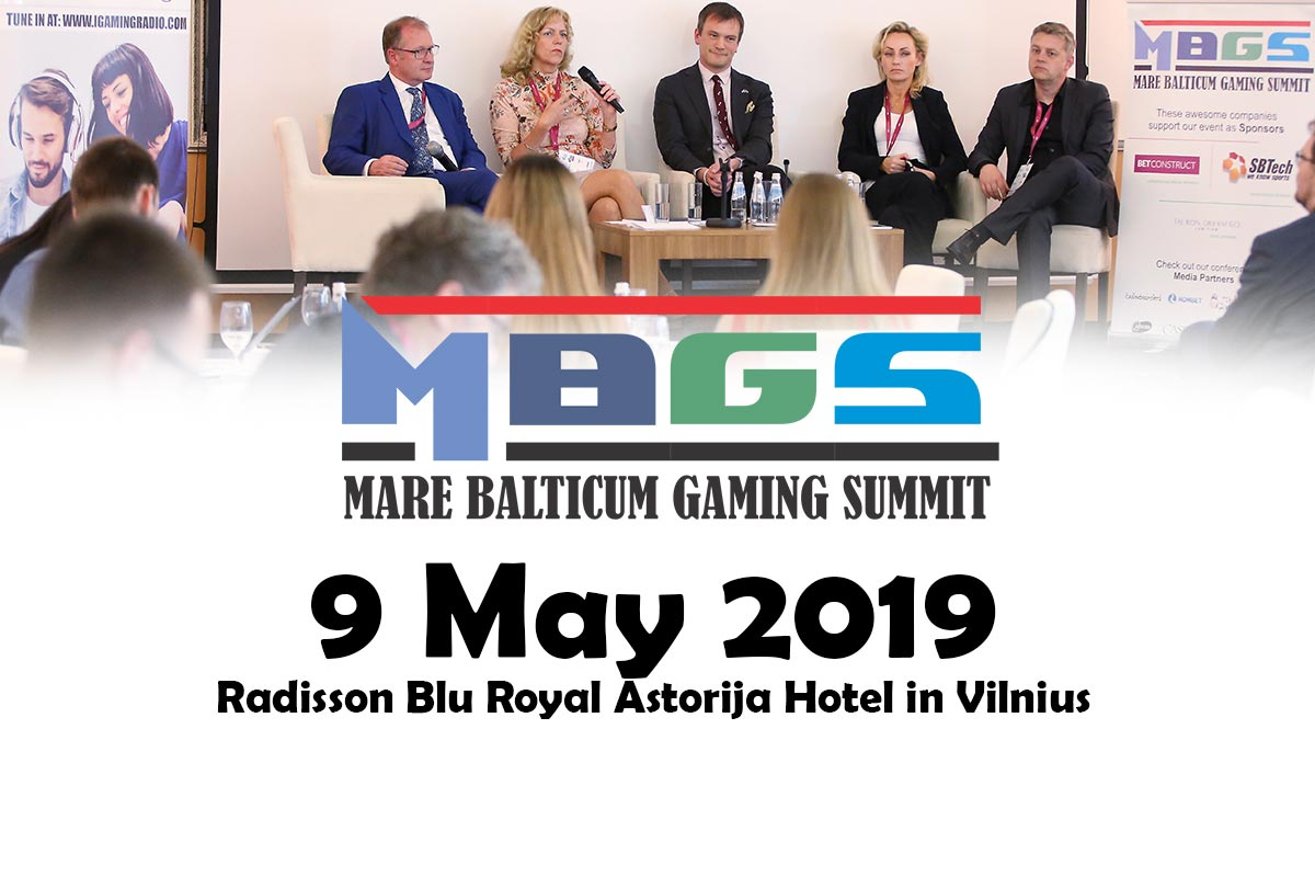 MARE BALTICUM 2 - The Baltic and Scandinavian Gaming Summit and Awards 2019