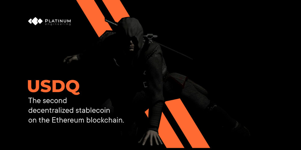 USDQ Smart Contract is Revealed by PLATINUM ENGINEERING. Q DAO Ecosystem is Alive Now! One of the most secret Platinum Blockchain Lab developments.