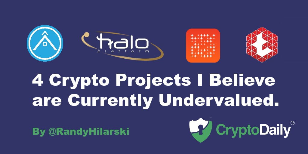 4 Crypto Projects I Believe Are Currently Undervalued