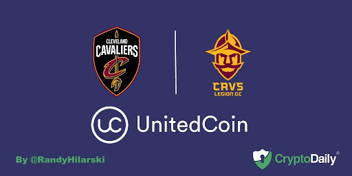 The Cleveland Cavaliers Announce Partnership with UnitedCoin.