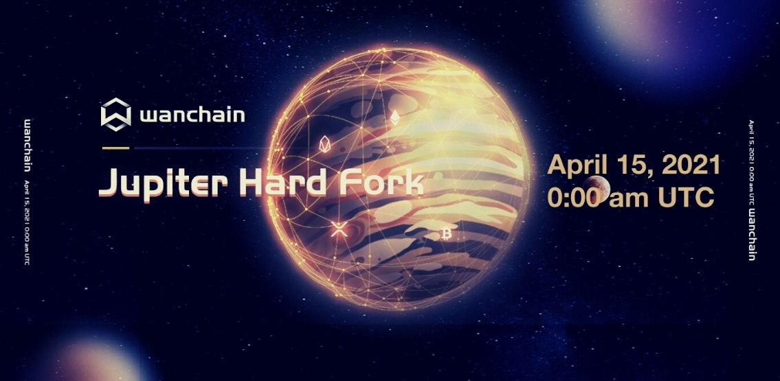 Jupiter Hard Fork Makes Wanchain Completely Compatible With Ethereum