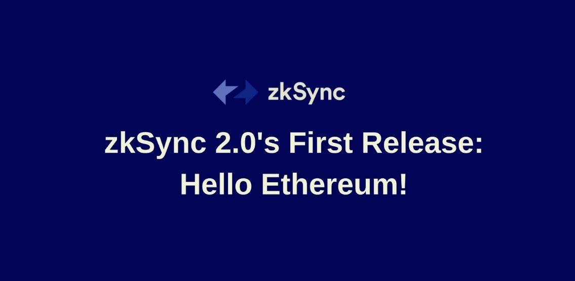 Alpha Testnet Of zkSync 2.0 Goes Live